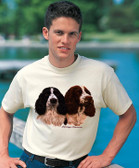Springer Spaniel T-shirt - Imprinted Springer Spaniel