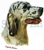 English Setter T-shirt - Imprinted English Setter