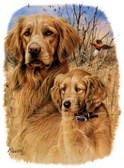 Golden Retriever T-shirt - Imprinted Golden Retriever