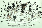 Dalmatian T-shirt - Imprinted Where's Ricardo
