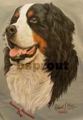 Bernese Mountain Dog T-shirt - Imprinted Bernese