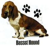 Basset Hound T-shirt - Imprinted Basset Hound