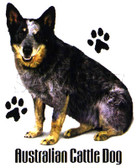 Australian Cattle Dog T-shirt - Imprinted Australian Cattle Dog