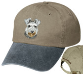 Schnauzer Cap with Lettering