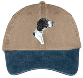 Pointer Embroidered Cap