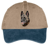 Dutch Shepherd Embroidered Cap