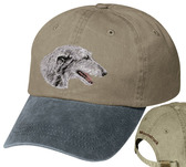 Scottish Deerhound Personalized Hat
