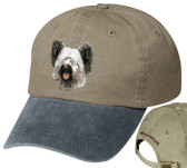 Skye Terrier Hat Personalized