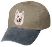 White Swiss Shepherd  Hat