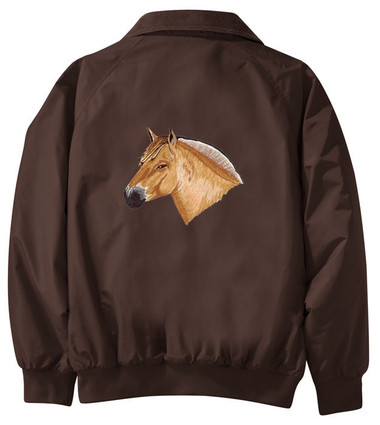 Fjord Horse Jacket Back