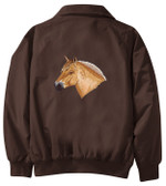 Fjord Horse Jacket Back