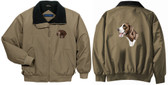 German Shorthair Jacket Back and Front Left Chest