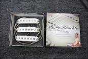 Bare Knuckle PAT Pend Strat Series '63 Veneer Board Calibrated Set - Parchment White