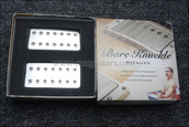 Bare Knuckle Aftermath 7 String Humbucker Pickups - Calibrated Chrome Cover Set