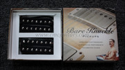 Bare Knuckle Aftermath 7 String Humbucker Pickups - Calibrated Black Open Set