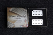 Bare Knuckle Aftermath Humbucker Pickups Calibrated Chrome Covered Set