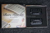 Bare Knuckle Aftermath Humbucker Pickups - Calibrated Black Bolts Open Set