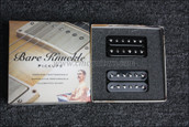 Bare Knuckle Aftermath Humbucker Pickups - Calibrated Black Open Set