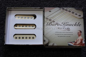 Bare Knuckle Mother's Milk Single Coil Strat Pickup Calibrated Set - Cream