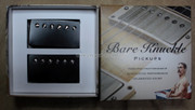 Bare Knuckle Nailbomb Humbucker Pickups - Calibrated Black Covered Set