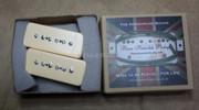 Bare Knuckle BKP-91 P90 Soapbar Pickups - Calibrated Cream Set