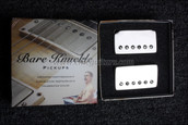 Bare Knuckle PG Blues Humbucker Pickups - Calibrated Nickel Set
