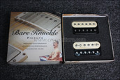 Bare Knuckle Steve Stevens Rebel Yell Humbucker Pickups - Calibrated Open Zebra Set