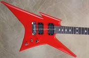 BC Rich USA Custom Shop Blood Red Ironbird Standard Handcrafted Guitar