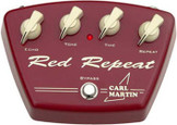 Carl Martin Red Repeat Delay Guitar Effect Pedal