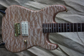 Charvel Custom Shop Maple Quilt Top Equatorial Mahogany Guitar