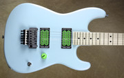 Charvel USA Custom Shop San Dimas Primer Scream Robins Egg Blue Guitar