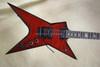 Dean Dimebag Darrell CMC Guitars Trans Red Stealth Guitar