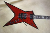 Dean Dimebag Darrell CMC Guitars Trans Red Stealth Guitar