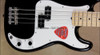 Fender American Special Black Precision Bass P-Bass Guitar