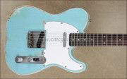 Fender Custom Shop Relic '60 Telecaster Custom Daphne Blue Electric Guitar