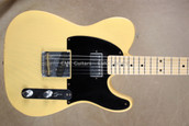 Fender Custom Shop '52 Tele Telecaster Nocaster HB Relic Blonde Guitar