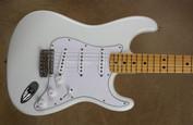 Fender Custom Shop NOS '69 Stratocaster Olympic White Strat Guitar