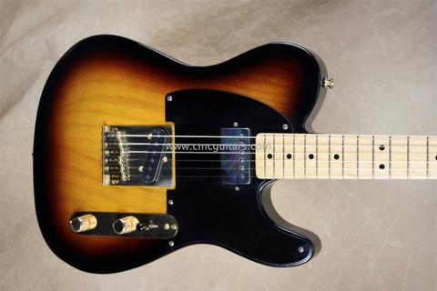 Fender Custom Shop Masterbuilt Tele 3 Tone Sunburst '52 Telecaster Guitar