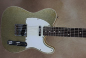 Fender Custom Shop 2011 NAMM Greg Fessler Masterbuilt '60 Telecaster Custom Relic Gold Sparkle Electric Guitar