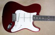 Fender Custom Shop Chris Flemming Masterbuilt Strat Tele Hybrid Stratocaster Telecaster Guitar