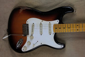 Freddymade Custom '57 Bar Room Brawler Guitar w/Aged Fender Strat Body