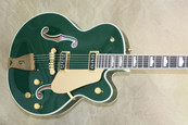 Gretsch G6196 Country Club Cadillac Green Hollow Body Electric Guitar