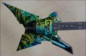 Jackson USA Custom Shop Extreme Mercenary Randy Rhoads Kelly Guitar