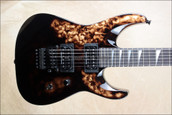 Jackson Custom Shop USA SL2H NAMM 2013 Apocalypse Smoke Guitar
