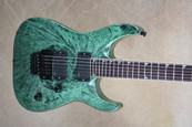 Jackson Dinky MG Series DKMG Green Swirl Electric Guitar