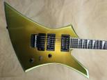 Jackson USA Select Series KE2 Kelly Acapulco Gold Electric Guitar