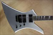 Jackson USA Select Series KE2 Kelly Quicksilver Electric Guitar