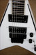 Jackson USA KV2 King V Snow White with Black Bevels Guitar