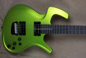 Parker USA RF522 NiteFly Radial Neck Joint Series Lime Gold Guitar