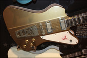 Washburn USA PS2012R Time Traveler Series Paul Stanley Starfire Golden Mist Guitar